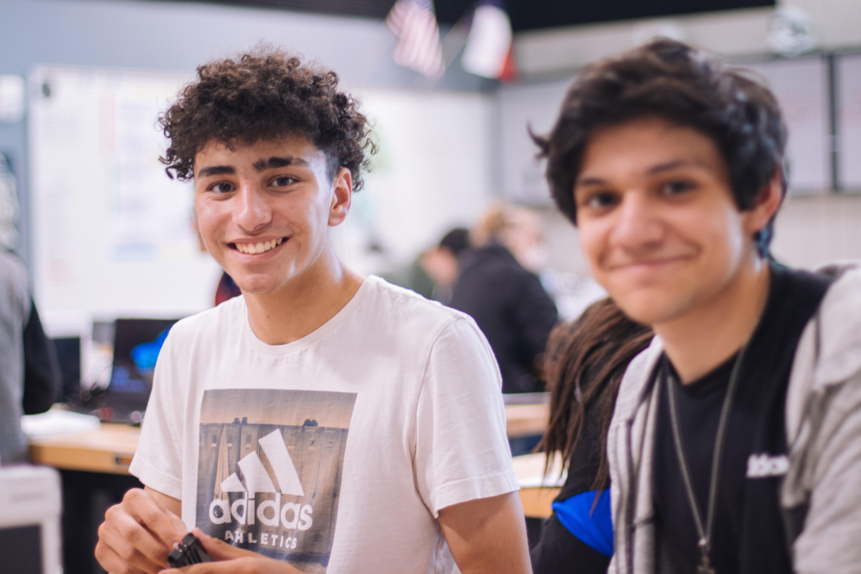 high school boys
