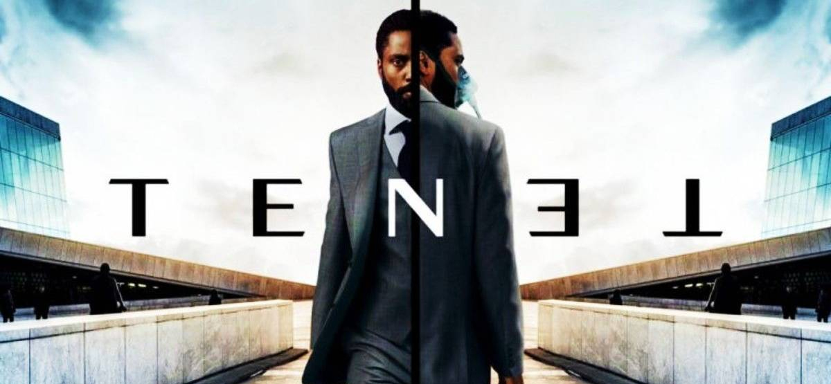 Christopher Nolan's Tenet movie poster