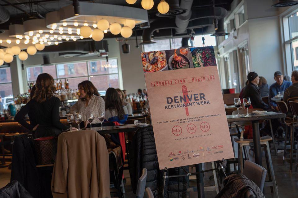denver restaurant week, things to do in denver this week