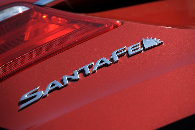Hyundai Sant Fe, courtesy Hyundai