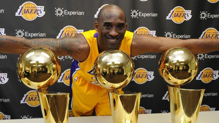 Kobe Bryant NBA Trophy