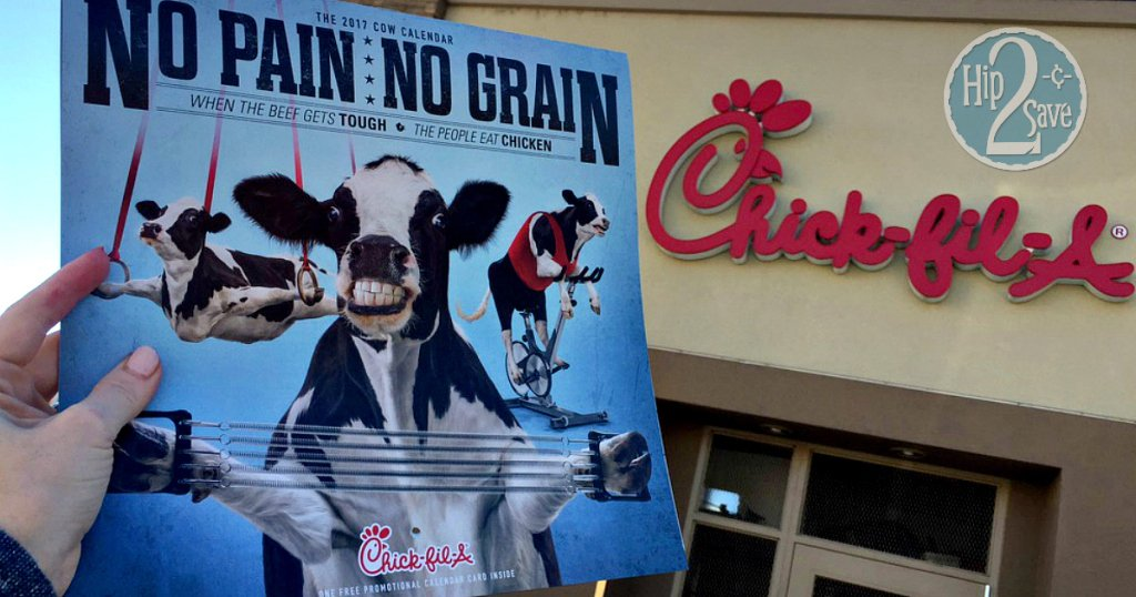 Chick fil A Is Ditching Its Famous Cow Calendars, And People Are