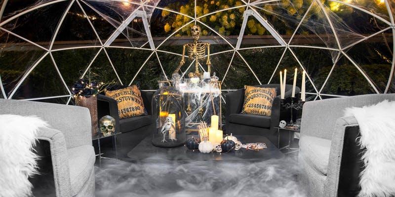 igloo at The Next Whiskey Bar