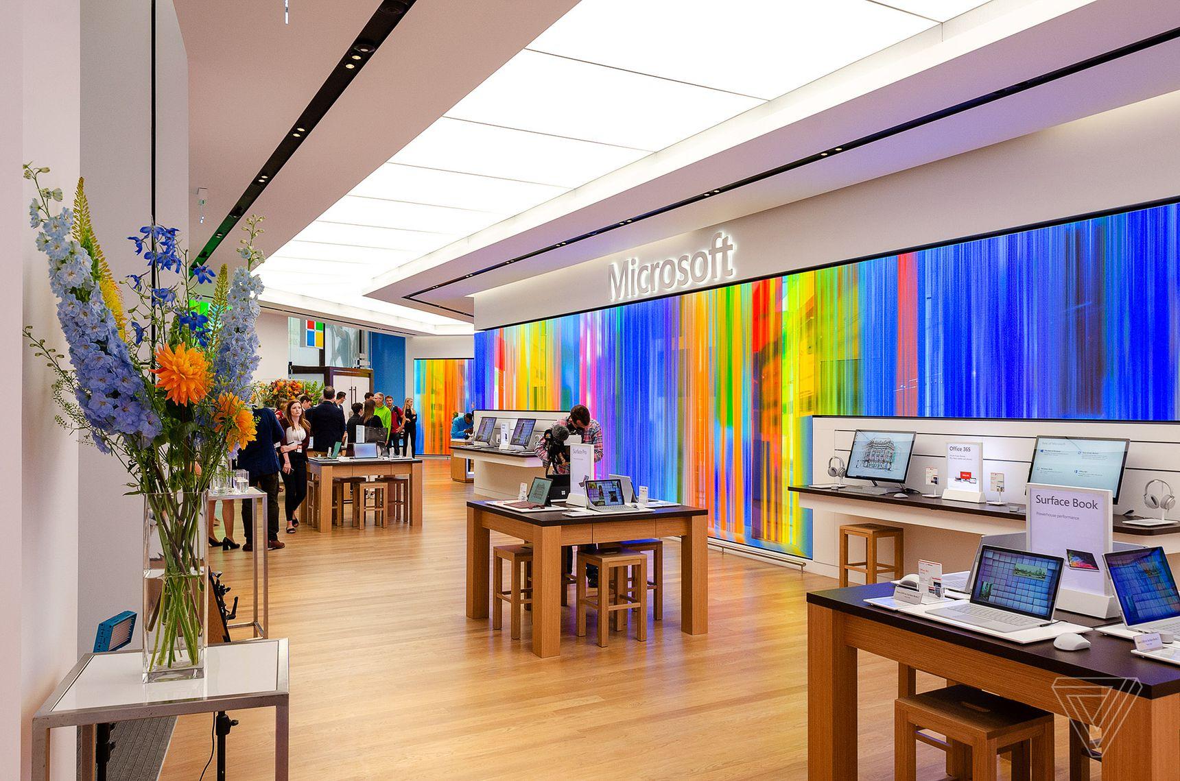 Microsoft's store in London