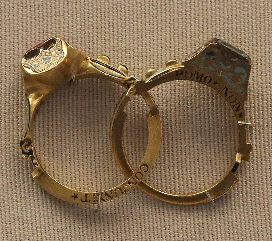 engagement rings, gimmel rings