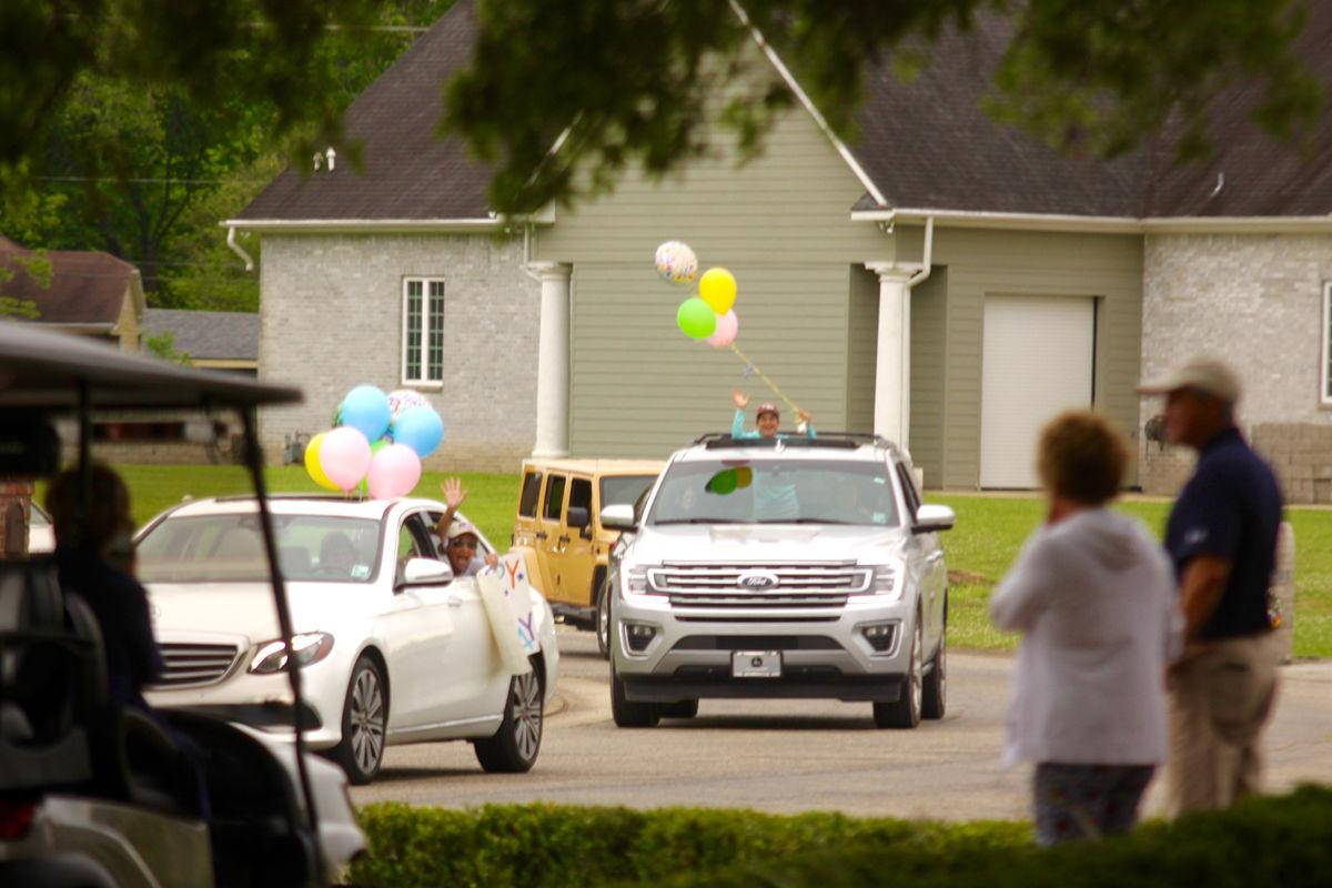 drive-by birthday parade