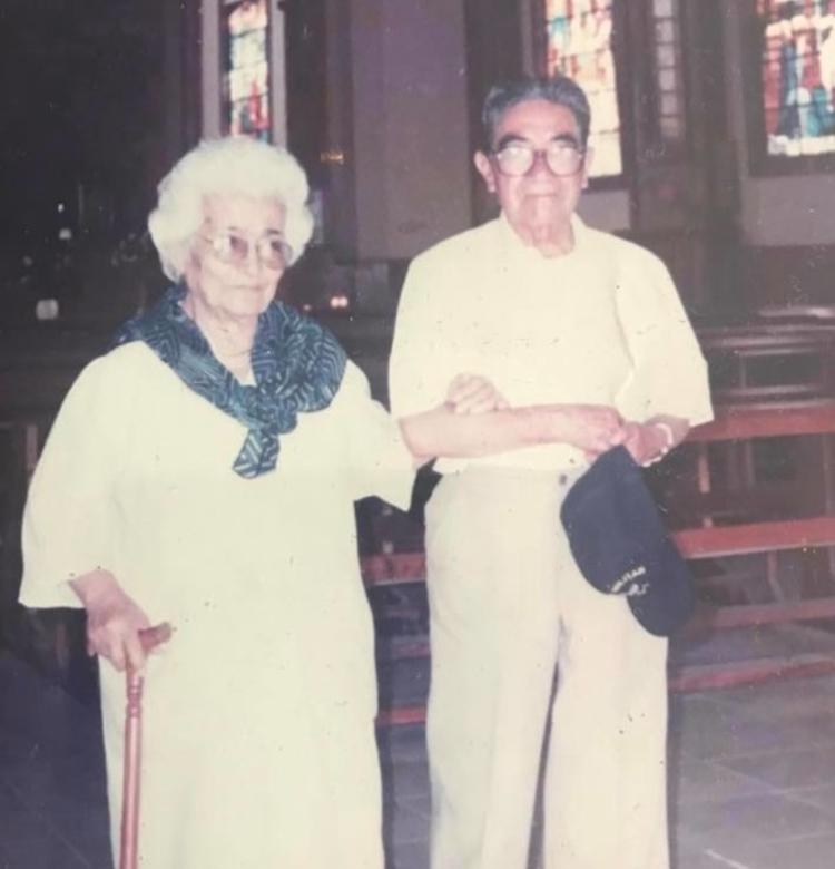elderly married couple