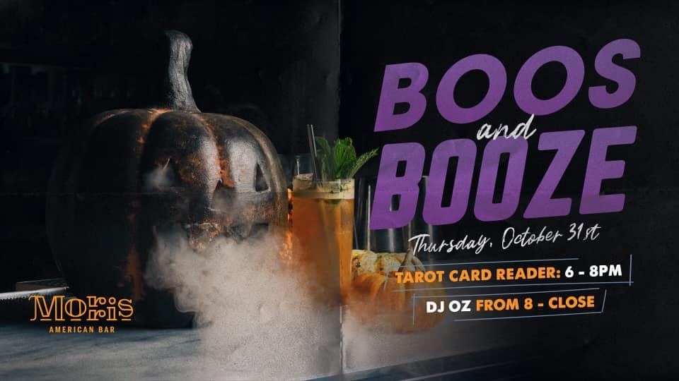 Morris American Bar Halloween event