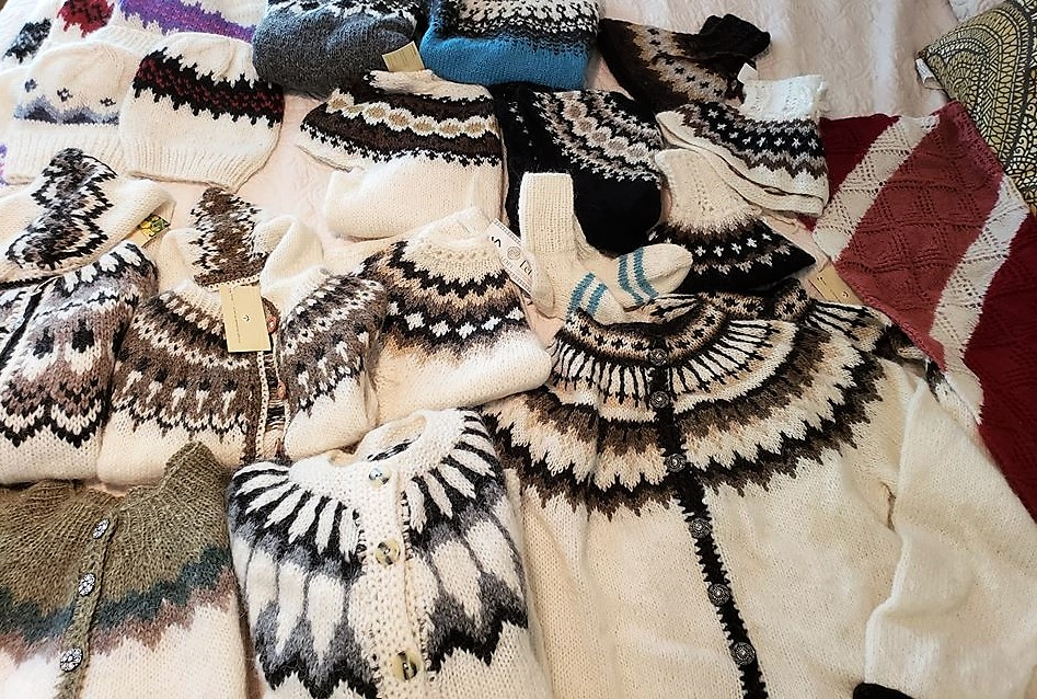 Icelandic Christmas Bazaar, sweaters