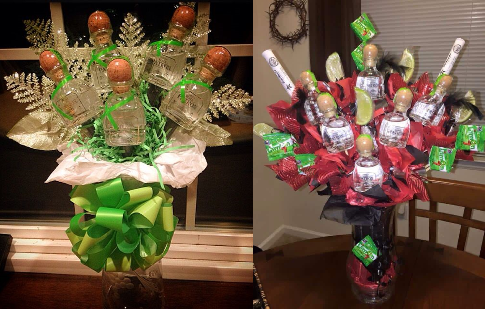 alcohol bouquet