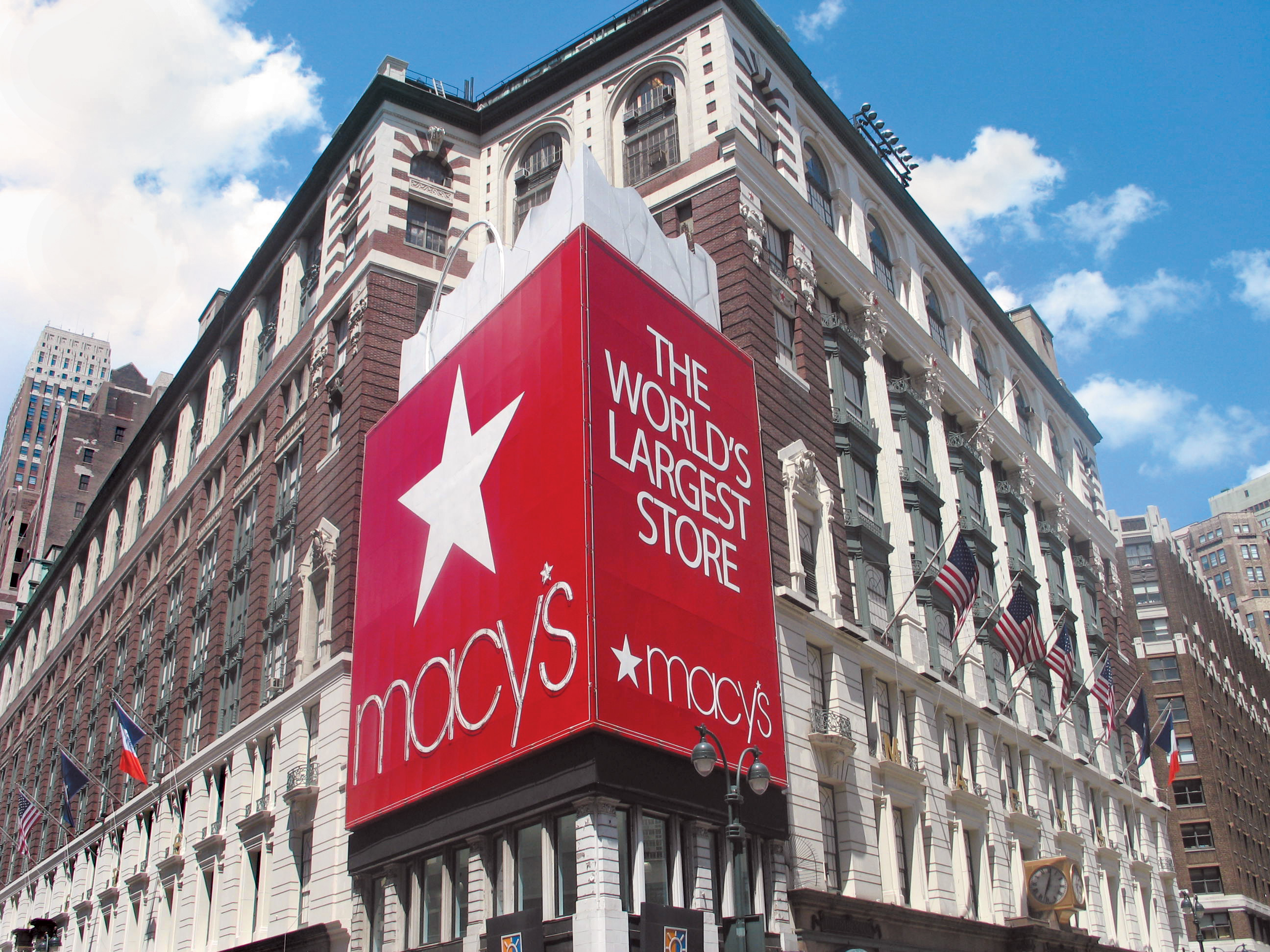 Macy's, storefront