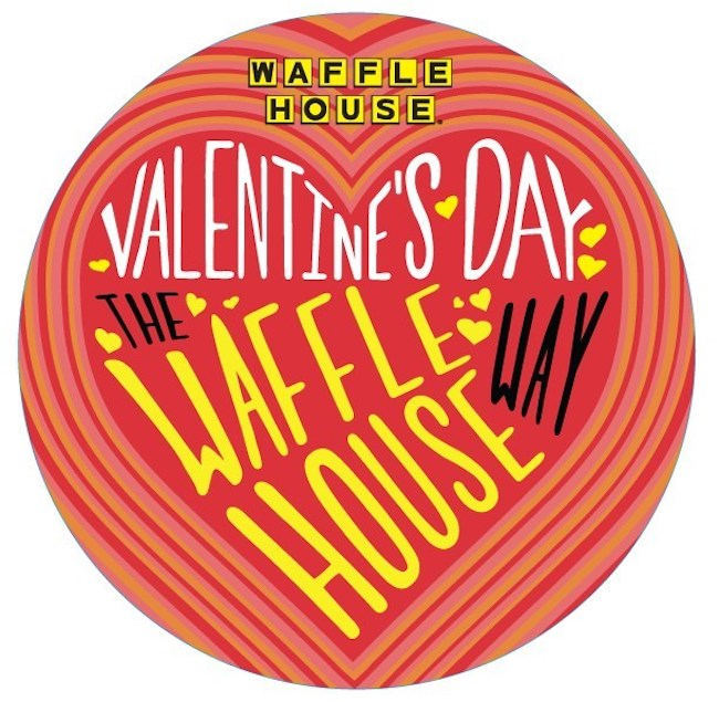 Waffle House Valentine's Day