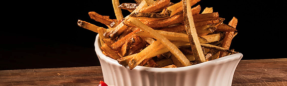hand-cut idaho fries