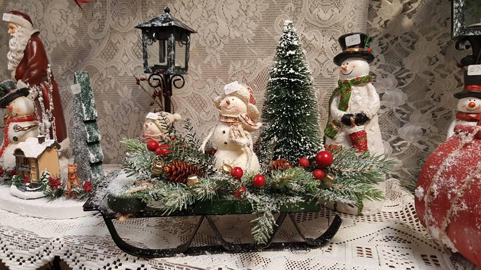 snowman, holiday decor