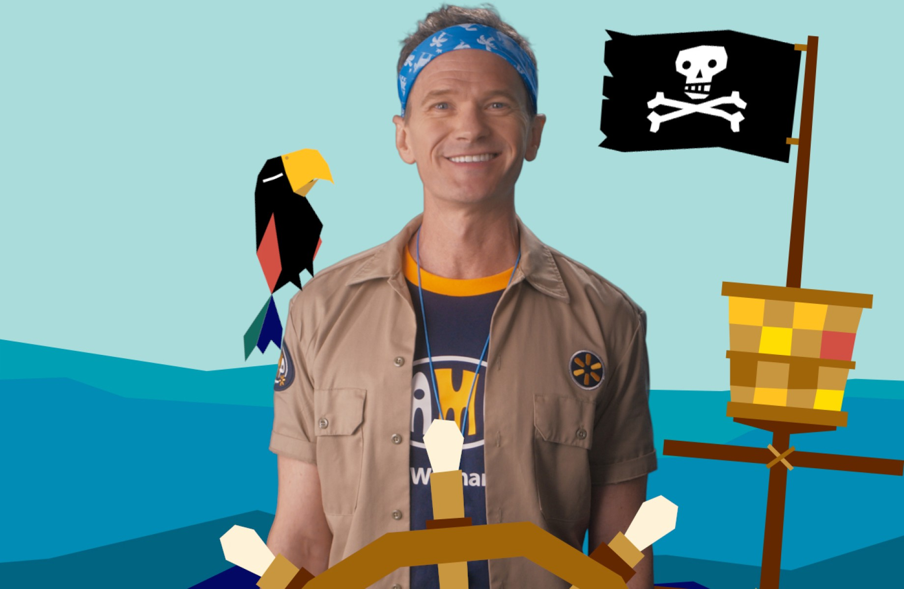 Niel Patrick Harris on Camp by Walmart