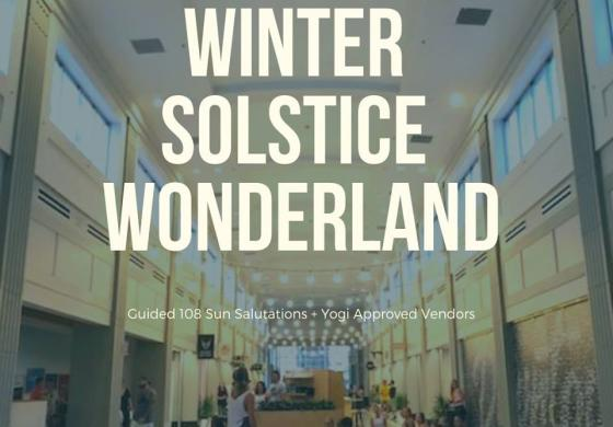 Winter Solstice Wonderland Banner