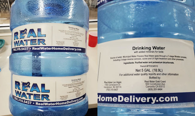 Real Water home delivery