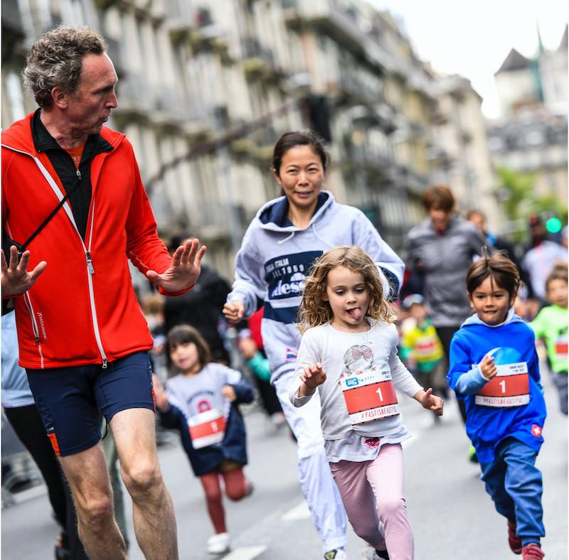 geneva marathon runners