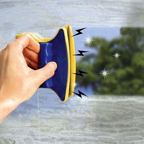 Glass wiper - магнитная щетка для мытья окон с двух сторон