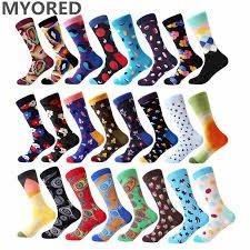 1 пара забавных носков для девушек