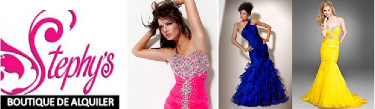 0017aff5c ... alquiler de un vestido de noche para dama en Stephy s Boutique. Las  Ofertas de Hoy