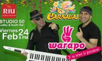 50% OFF: Carnaval con Warapo