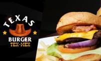 52% OFF: Burgers, french fries and soda at Texas Burger Tex Mex