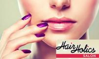 Up to 62% OFF: Hair Holics Salon