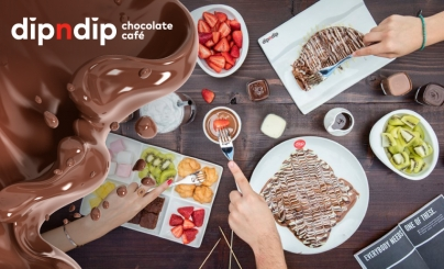 50% OFF: Dip n Dip Chocolate Cafe