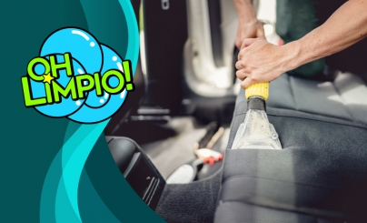 Hasta 51% OFF: Limpieza interior para autos