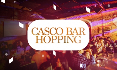 50% OFF: Casco Bar Hopping
