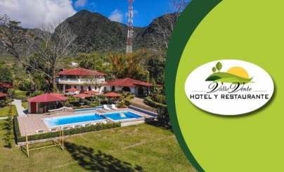 50% OFF: Hotel & Restaurante Valle Verde