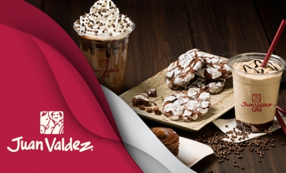 50% OFF: Juan Valdez Café