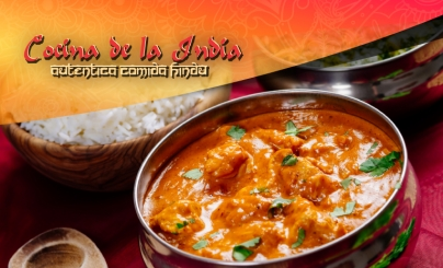 50% OFF: Cocina de la India