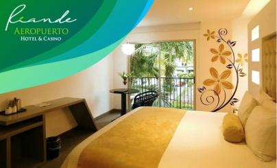 50% OFF: Riande Aeropuerto Hotel & Casino