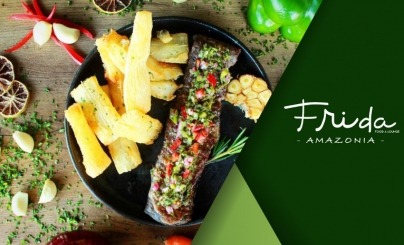 50% OFF: Frida Food & Lounge Amazonia