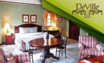 55% OFF: Estadía en Hotel DeVille
