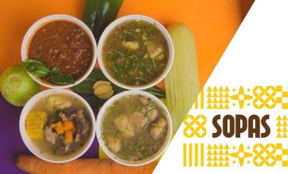 50% OFF: Sopas Gourmet