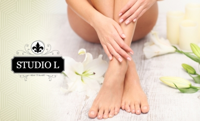 Hasta 55% OFF: Mani Pedi
