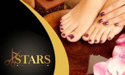 51% OFF: Manicure y Pedicure