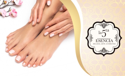 Hasta 52% OFF: Manicure y Pedicure