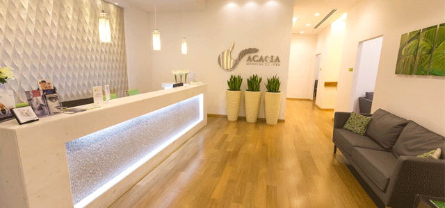 Acacia Medical Centre, Dubai, is a multi-specialist outpatient clinic seeking to offer a high standard of medical care to the community. Our medical and specialty consultant staff are established professionals who have been trained in Europe and North America, and our ethos is to provide a service that is on par with the latest International and local guidelines in any concerned health care field and to offer facilities to make our patients' experience as comfortable as possible.