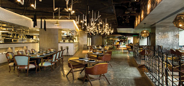 "BU! is a contemporary, energetic pan-Latin concept nestled in the heart of Abu Dhabi. The name derives from ""buenisimo"" - Spanish for ""exceptionally good"" and refers to a bevy of exceptional offerings, such as flamboyant entertainment, innovative cocktails and the cutting-edge of Latin American inspired cuisine. Our food is prepared in a modern style and presented in an environment that is effortlessly chic with a worn-in industrial elegance."