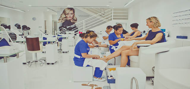Chloe's Beauty, Hair and Nails is a unique ladies-only salon concept launching in Dubai, with a focus on quality, affordability and convenience. A wide choice of services, luxury products, affordable pricing, convenient opening hours, a kid's pampering area and a private treatment room for 6 guests are just some of the reasons to visit us. The salon uses the best products and a team of exceptionally well-trained professionals will look after your every need.  Opening Hours: Sun - Thu: 7:00am