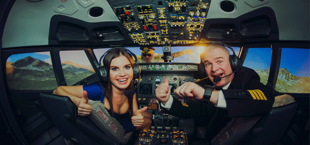 Discover the freedom and adventure of flying with a total level of realism, on a Boeing 737 simulator!