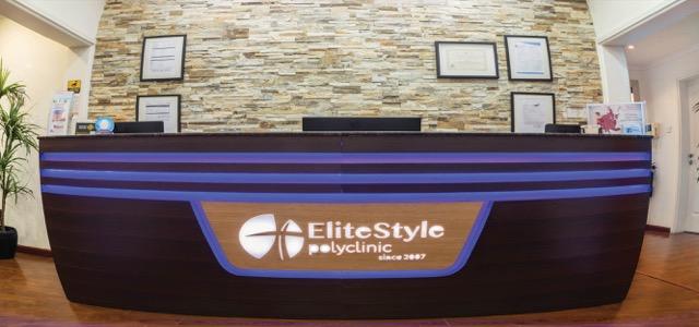 مركز إليت ستايل بولي كلينيك هي مركز طبي خاص ومستقل يعمل في دبي منذ عام 2007. يهدف القائمون على المركز إلى توفير أفضل التقنيات الآمنة والمتقدّمة في مجالات طبية مختلفة كالمعالجات التجميلية، والطب العائلي، وطب النساء ضمن بيئةٍ احترافية ورعايةٍ كبيرة وحفظٍ كبير لخصوصية المرضى. يبذل الطاقم الطبي في مركز إليت ستايل بولي كلينيك أقصى جهودهم لتأمين جميع التفاصيل التي تحتاجها عند الاستفسار عن أي إجراء طبي ضمن خدمةٍ احترافية وأجواءٍ ودودة. فجل اهتمامهم يكمن في تجاوز سقف توقعاتك وتوفير الخدمة التي تحتاجها ع