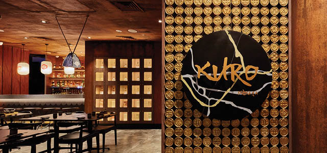Located in the epicentre of Suntec City, KURO Izakaya is a Japanese gastro bar offering robatayaki, kushiyaki, small plates, sake and whisky. A modish izakaya by night, KURO Izakaya transmutes into a laid-back ramen donburi shop by day offering popular go-to Japanese comfort food at affordable prices. With a name inspired by Kurobuta, expect a solid range of dishes featuring the sought-after porcine, Wagyu, a great selection of charcoal-grilled seafood and a wide collection of whisky.