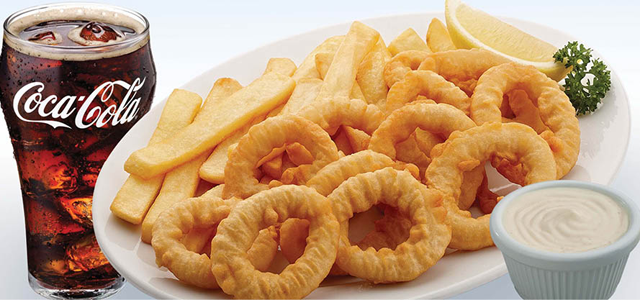 The entertainer london fish chips dubai for Fish and chips london