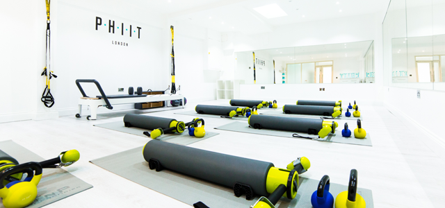 PHIIT is an acronym of pilates and high-intensity interval training. We developed a workout that can provide our clients with everything they would need to enhance their fitness and strength in one workout. Our signature hybrid class is a combination of dynamic MOTR pilates, kettlebell strength training and high-intensity weight training. We also offer boxing and barre classes. Class sizes are small so you get the one on one attention you need to exercise in a safe and encouraging environment.