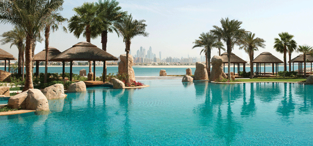 Located on the Palm Jumeirah, Sofitel The Palm, Dubai is a Polynesian themed resort, comprising 361 rooms & suites and 182 serviced residences. A cozy retreat from Dubai's urban cityscape, the resort sprawls over a long private beach. The luxury beachside hotel offers a large variety of dining options with 7 restaurants and 6 lounges to choose from. The wide array of leisure facilities includes a So Fit health club and a 2,500 sqm So Spa. The hotel is located 44kms from Dubai International Airpo